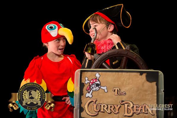 Pirates Curry Bean Rehearsal