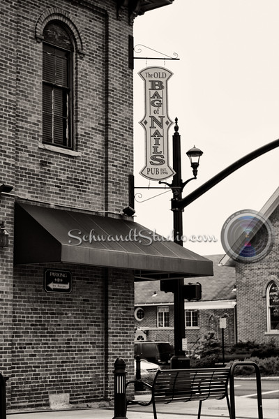 The Old Bag of Nails, Main Street and Norwich, Hilliard Ohio.