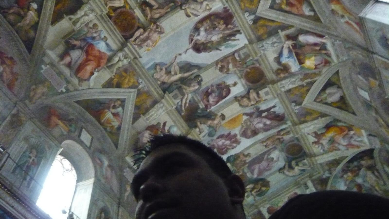 "38. Sistine Chapel<br /> <br /> Vatican Galleries<br />  <a href=""http://rishiray.smugmug.com/gallery/5049642_ouJbp"">http://rishiray.smugmug.com/gallery/5049642_ouJbp</a><br /> <br /> Hillman Wonders Page<br />  <a href=""http://www.hillmanwonders.com/sistine_chapel/sistine_chapel.htm"">http://www.hillmanwonders.com/sistine_chapel/sistine_chapel.htm</a>"