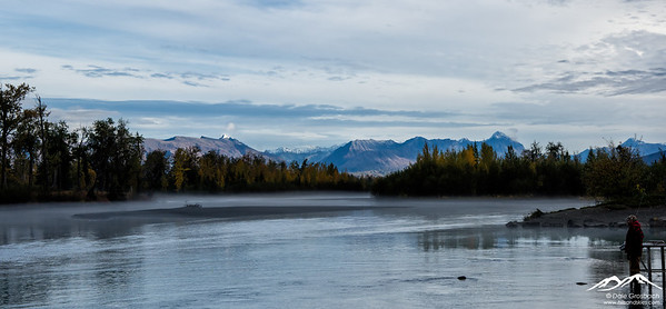 Morning Mist, Knik River, Alaska