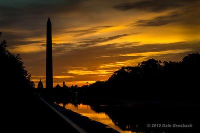 Washington D.C. at Sunrise - October 10, 2012