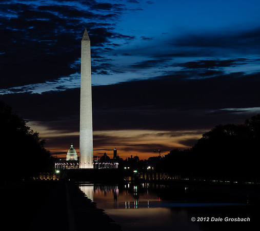Washington D.C. at Sunrise - October 10, 2012