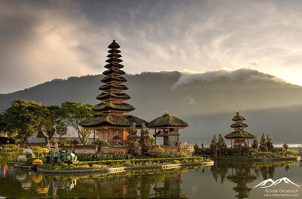 Bali, Indonesia  Upcountry Landscapes of Bali  Ulun Danu Temple, Lake Beratan  Image #0194  Mandatory Credit: Dale Grosbach - Hills and Skies Photography