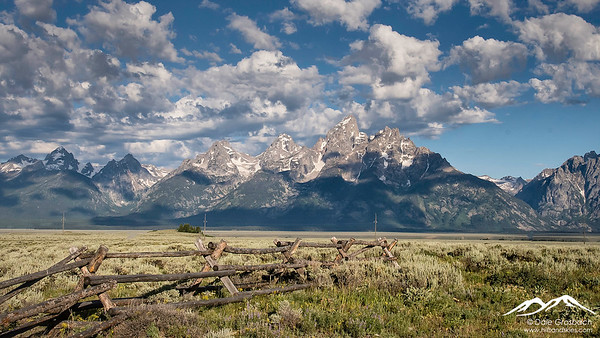 High Clouds on the Teton Range