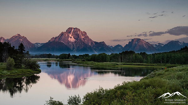 Mt. Moran Sunrise - Oxbow Bend
