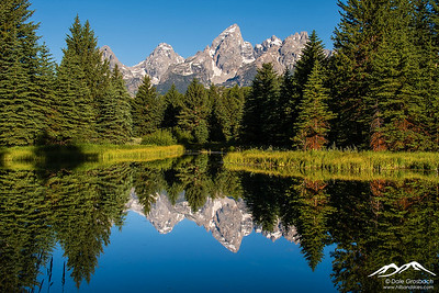 Schwabacher Landing - Beaver Ponds Reflections