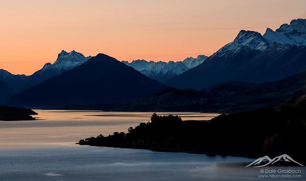 Sunset - Lake Wakatipu