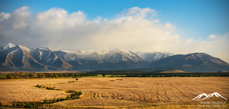 Ben Ohau Fields - First Light
