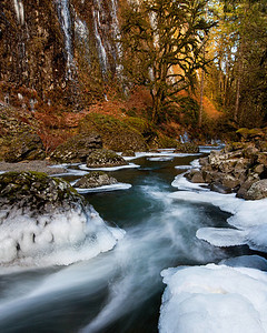 Abiqua Creek Ice
