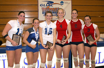 2009 - Charger Volleyball wins GLIAC title