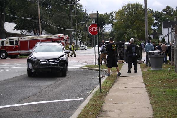 Hillsdale Fire Dept. Car accident 10/13/18