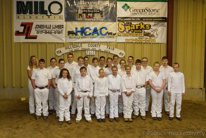 2012-09-25 Morning Dairy Show - Ribbon Winners