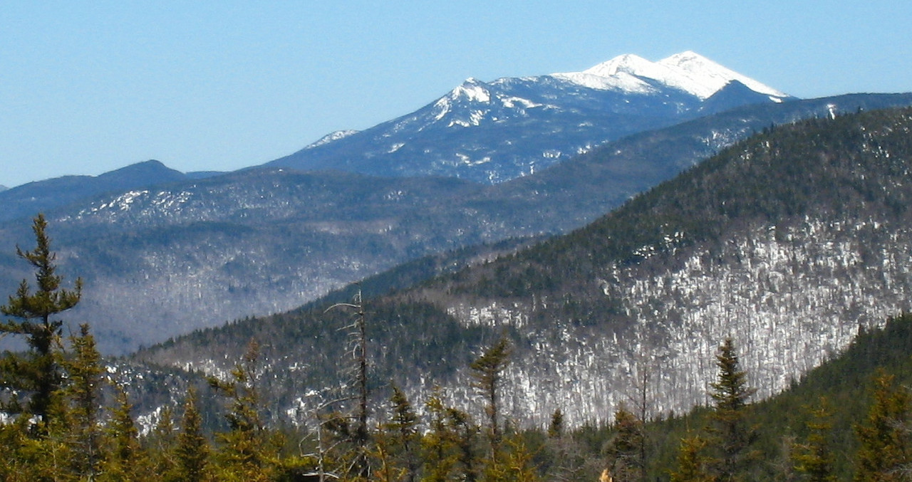 Franconia Ridge from Dickey