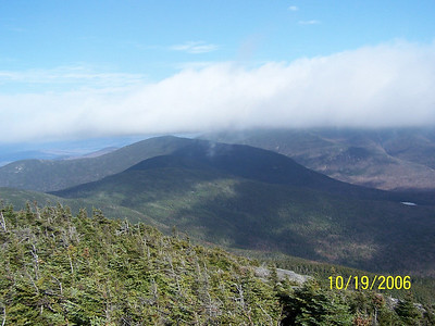 Looking back at Cannon Mtn. from Noth Kinsman