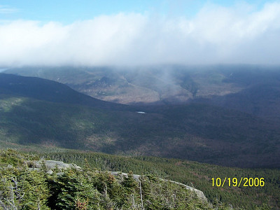 Looking toward Franconia Ridge from N. Kinsman