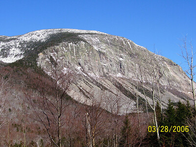 Mt. Cannon from the Trailhead