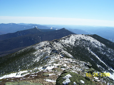 The Southerly View To Mts. Liberty and Flume
