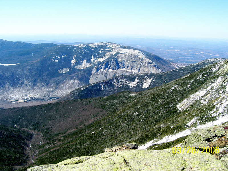 Looking Down at Mt. Cannon