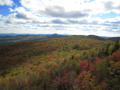 Leaf Peeping on Mt. Sunapee