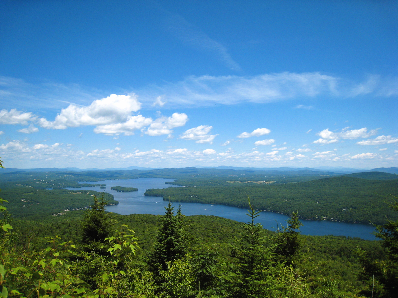 Lake Sunapee from South Peak