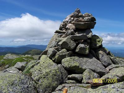Mts. Eisenhower, Franklin, and Washington 06212006