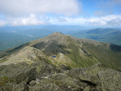 Looking at Mt. Methodius and Star Lake from the Summit of Mt. Elisha