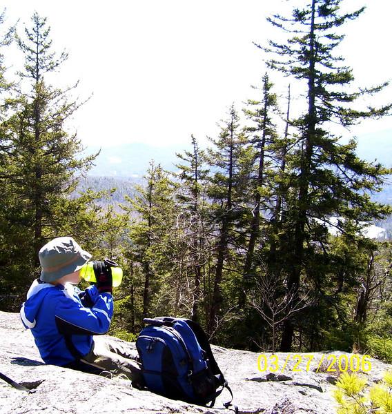 Ragged Mountain Hike, 03272006