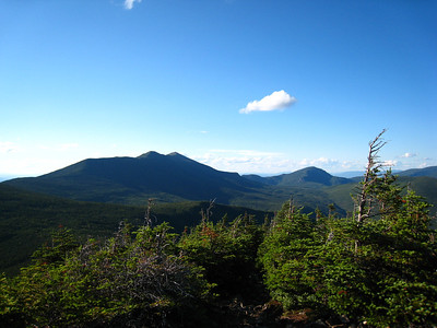 Looking Back at Franconia Ridge
