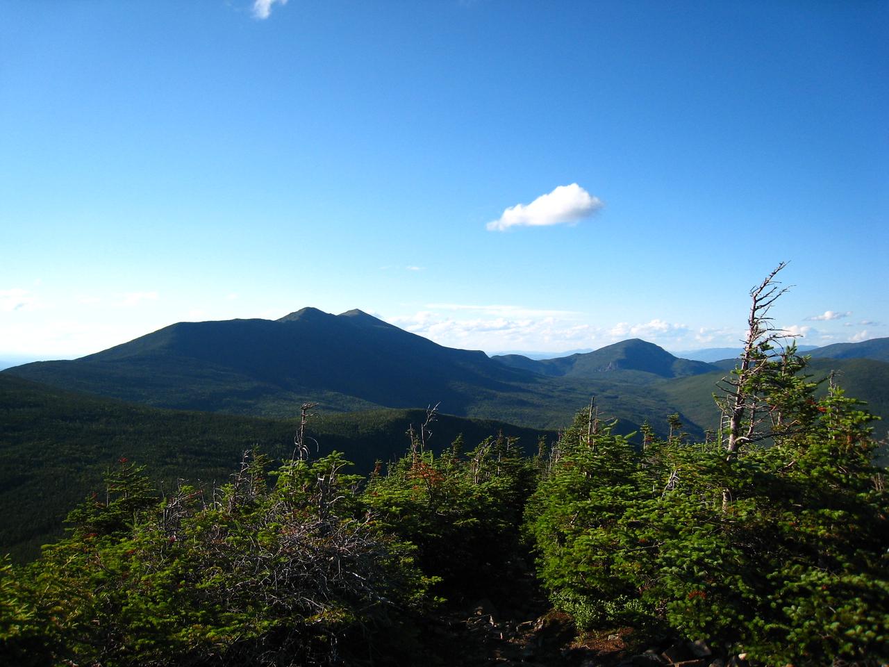 Looking Back at Franconia Ridge