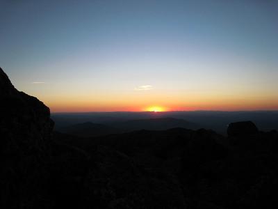 Sunset from Elisha
