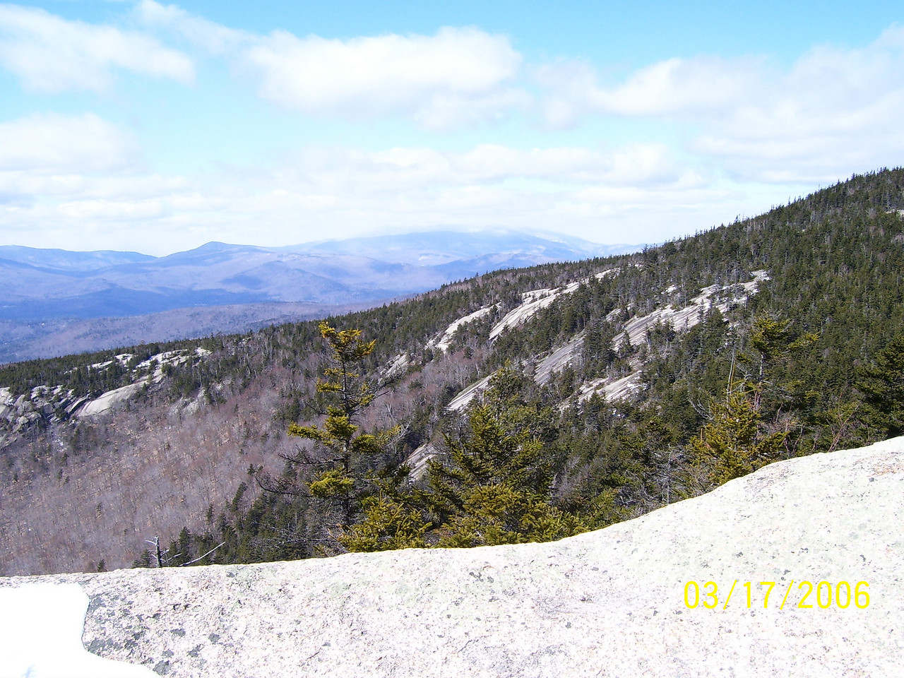 Vista from Mt. Welch