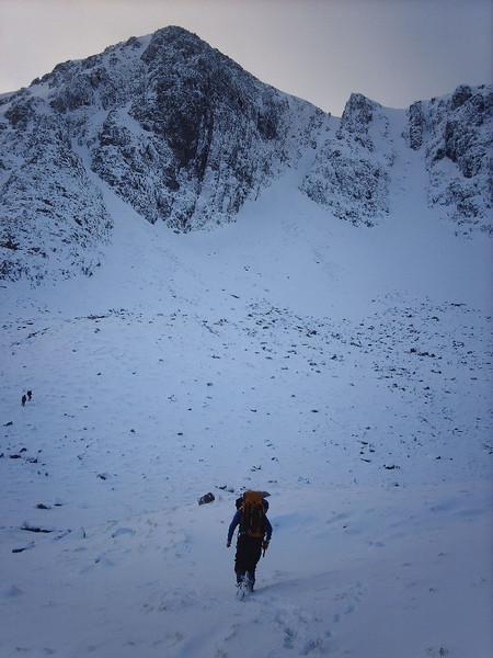 Summit Buttress of Stob Coire nan Lochan.