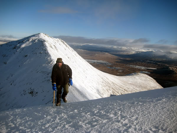 On route to Creise from Meall a'Bhuiridh