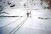 Steall bridge and a frozen River Nevis!