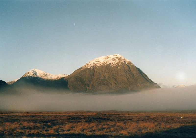 The Buachaille from Blackrock Cottage