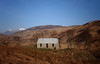 Spring morning at Stoineag bothy. Snow capped Ben Nevis in backrground.
