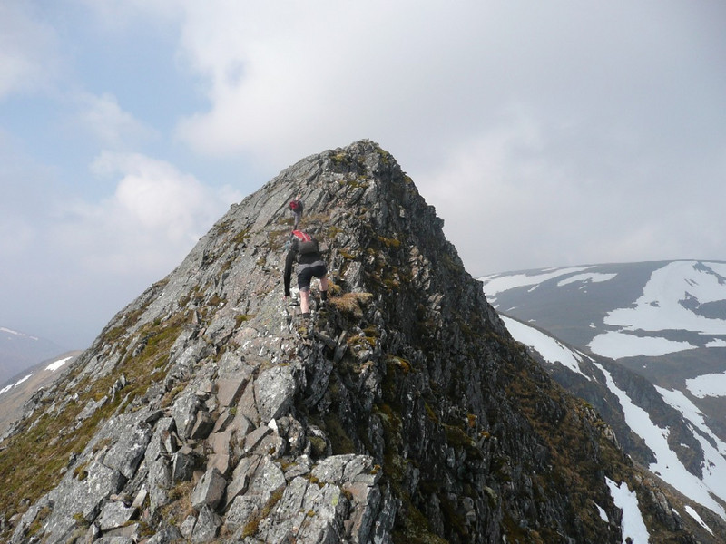 The Lancet Edge of Sgor Iutharn