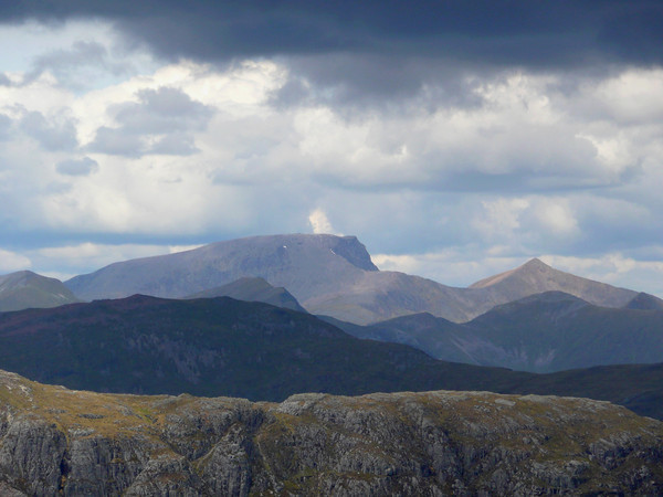 Ben Nevis from Stob na Broige in Glencoe