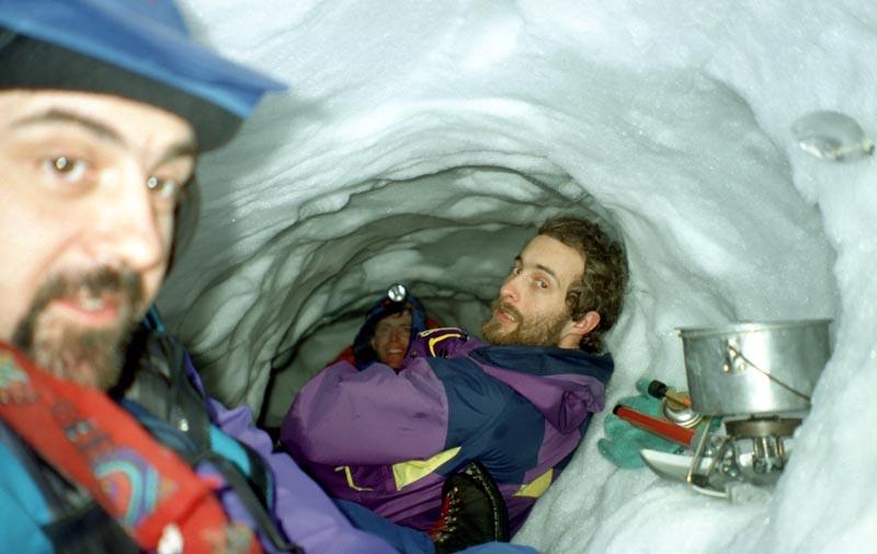 Cairngorm snowhole.
