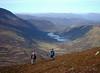 Looking down to Loch Loch and a distant Larig Ghru from Ben Vurich.