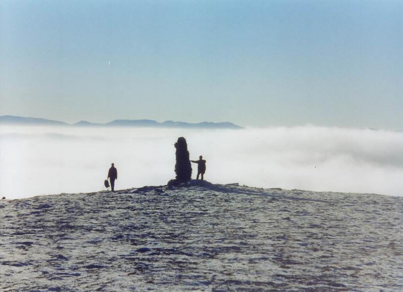 Summit cairn of Carn na Fhreiceadain.