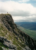 At the top of the Devil's Point, Cairngorms.