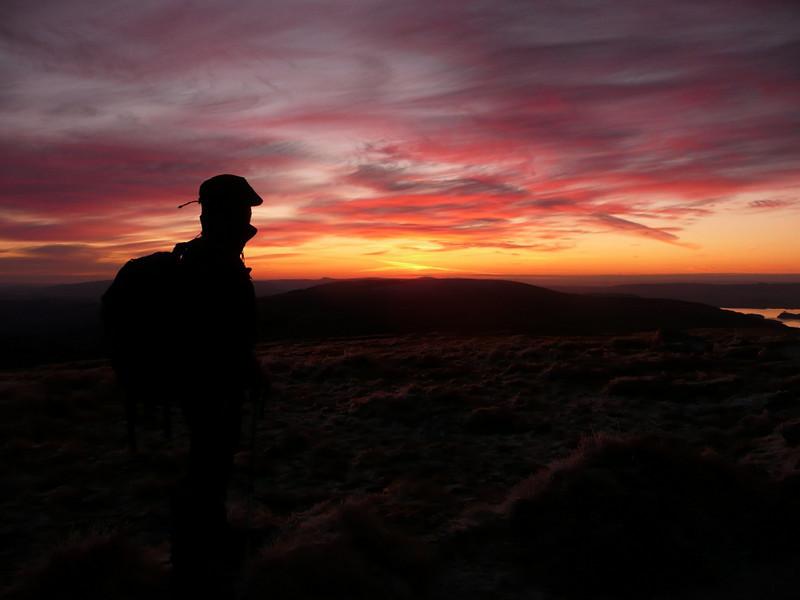 Sunrise on Ben Lomond
