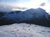 Beinn Ime from Beinn Chorranach, Arrochar Alps