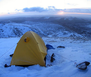 High camp on Ben Vorlich.