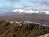 Looking over the crags on Binnien an Fhidhleir towards Ben Cruachan. Taken from Beinn Chorranach