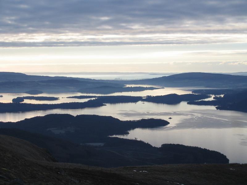 Cold morning over Loch Lomond