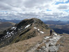 Approaching the top of Beinn Dorain