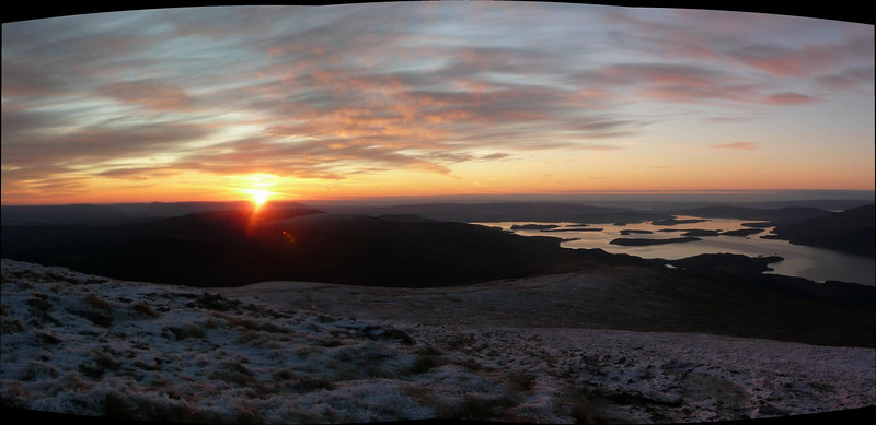Sunrise from Ben Lomond