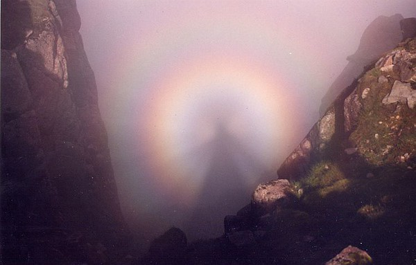 A smashing example of a broken spectre. On the Ben Cruachan ridge.